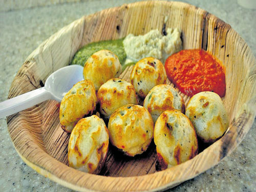 The South Indian touch