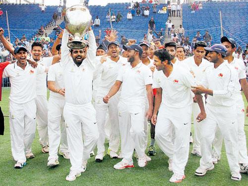 Mumbai are Ranji kings