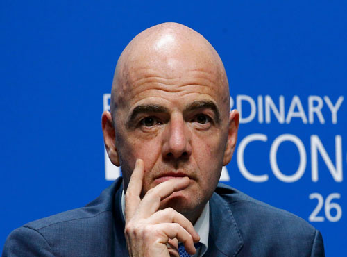Infantino has a huge battle on his hands