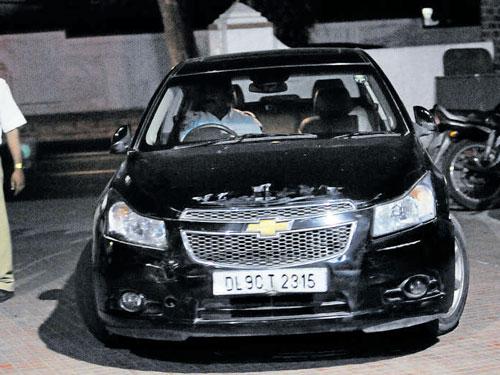 Drunk woman rams car into three vehicles