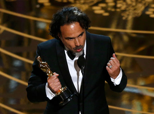 Inarritu makes Oscar history with best director win