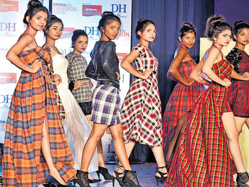 Dh Metrolife Fashion Show Bangalore City College Wins First Round Deccan Herald