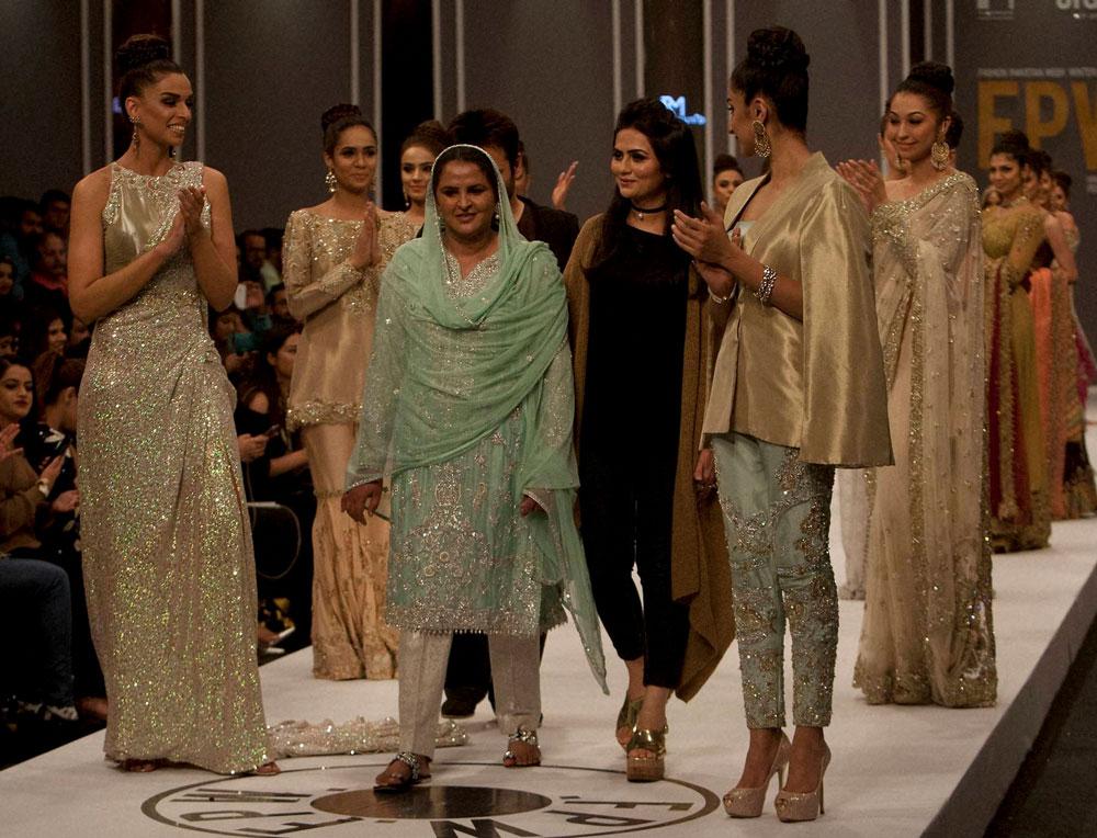 Pakistani Gang Rape Victim Walks The Fashion Runway Deccan Herald
