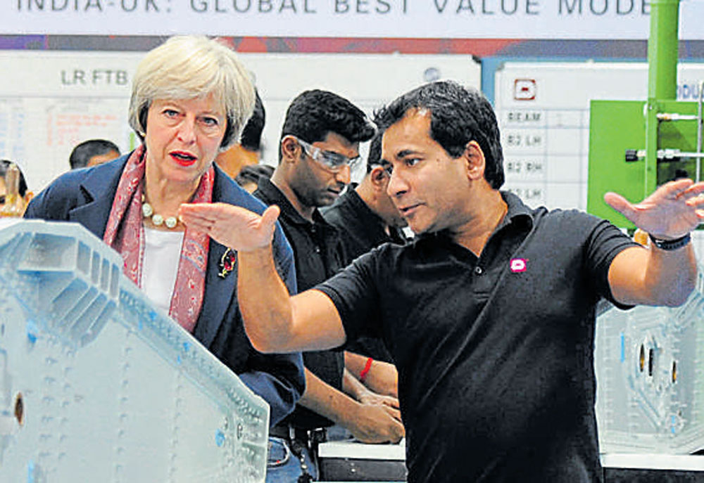 British PM Theresa May lauds Bengaluru startups prowess