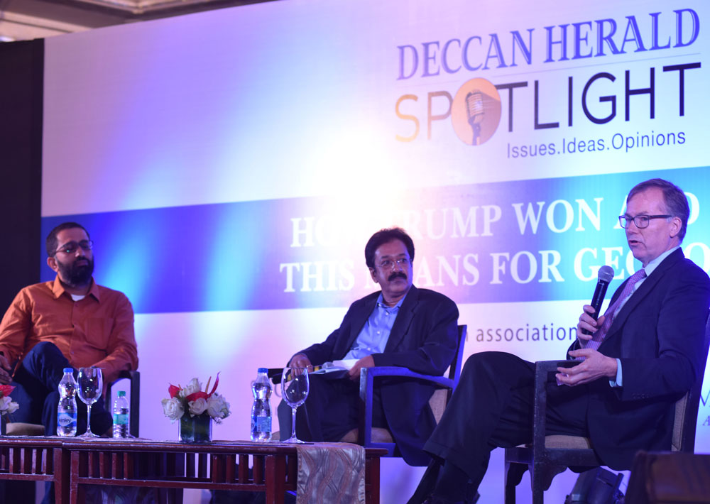 Next four years of USpolitics will be interesting: DH Spotlight panellists