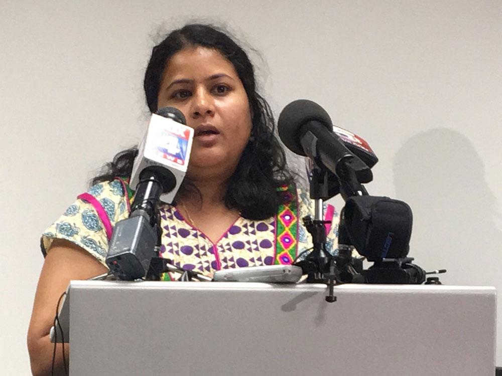 Kuchibhotla's wife expresses wish to return to the US