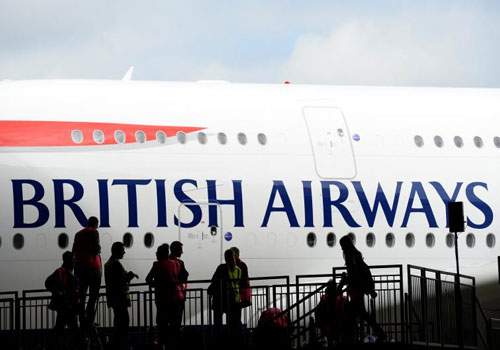 Mouse grounds British Airways flight to US