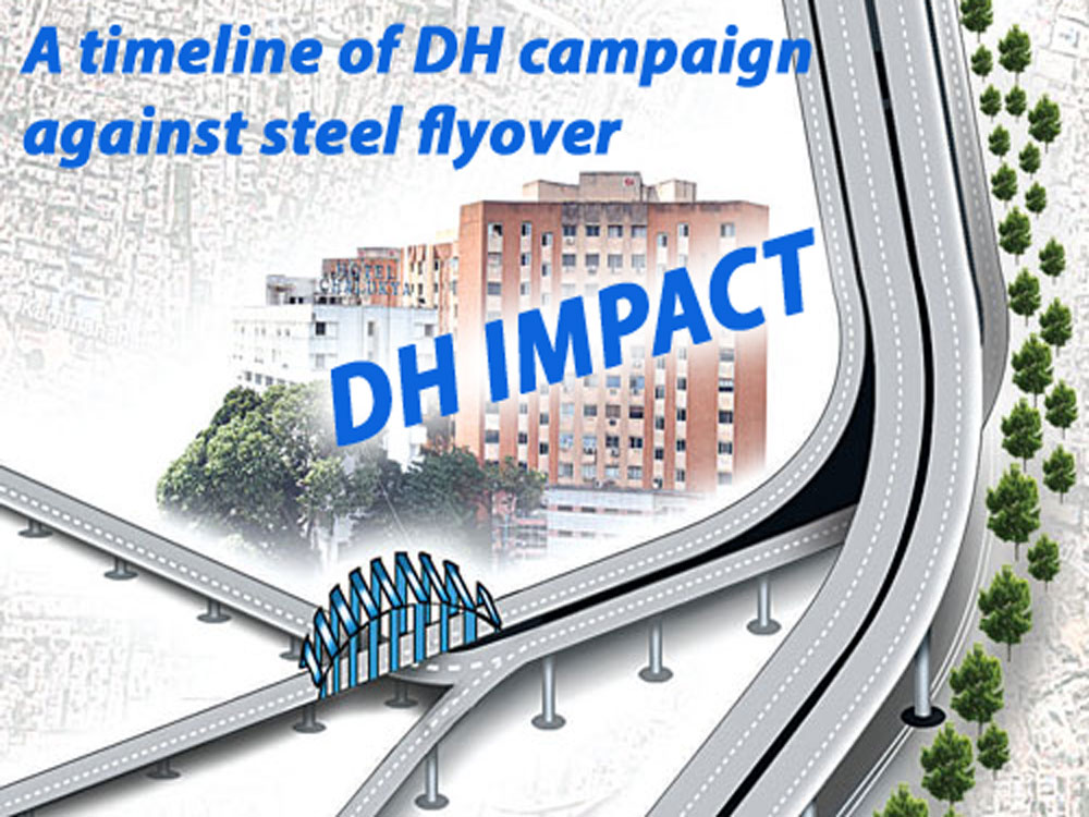 DH Impact: A timeline of DH campaign against the steel flyover