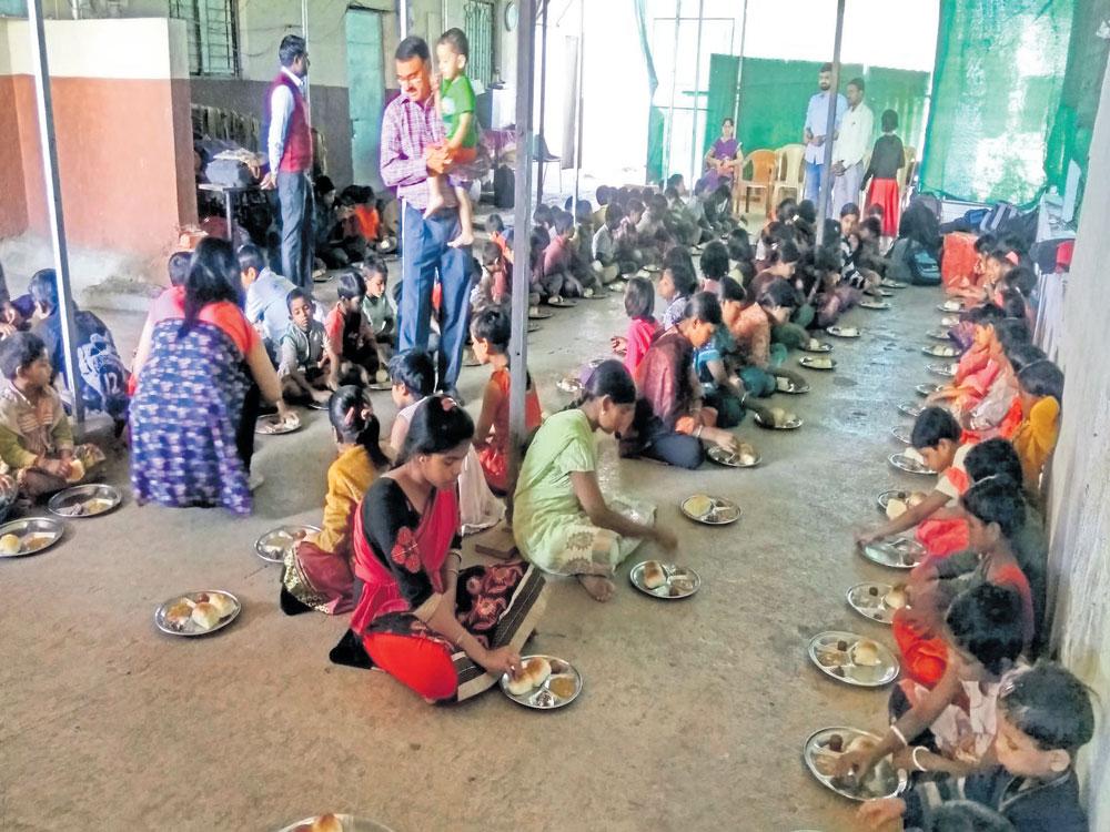 Children in this ashram dream big