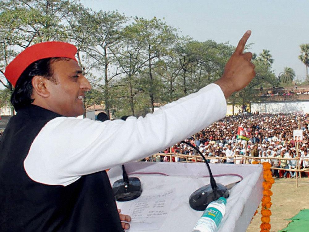 PM is to stray 'somewhere else' thru his roadshows: Akhilesh