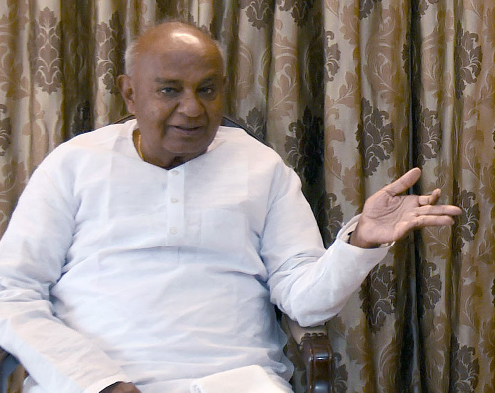 Regional parties lack strength to stop BJP's growth: Gowda