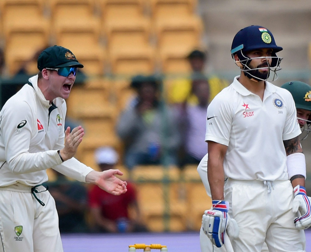 No action against Kohli, Smith on DRS issue: ICC