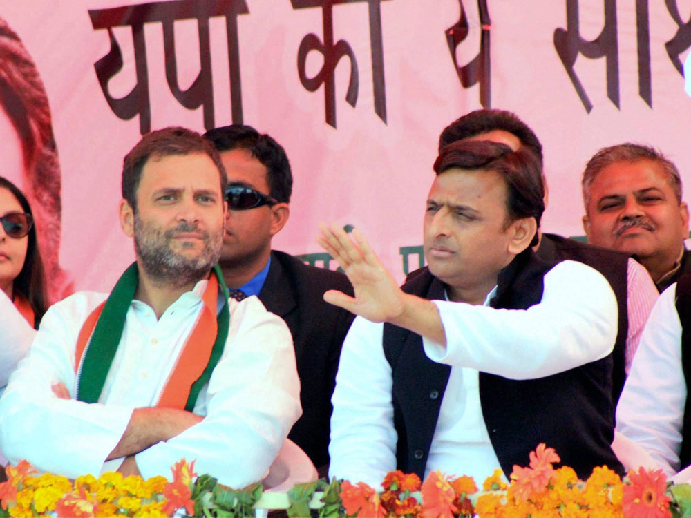 BJP, Cong-SP alliance confident about UP victory