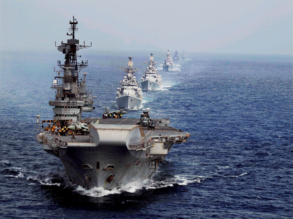 'Aircraft carriers ensured India's influence in Indian Ocean'