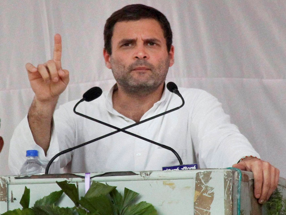 Will storm to power in UP, claims Rahul
