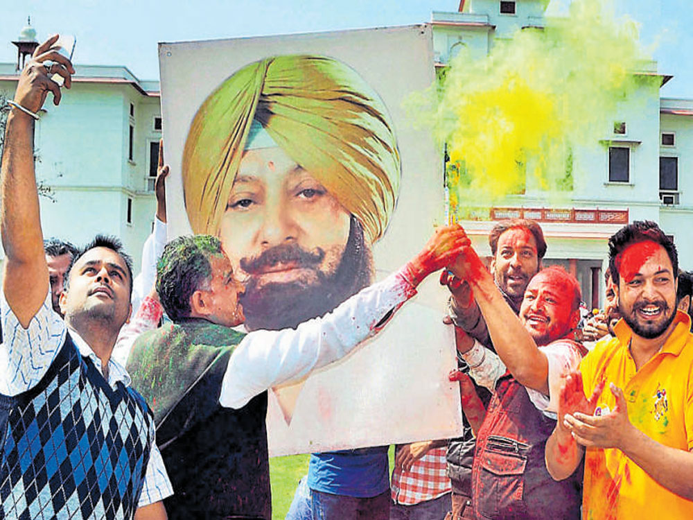 'Balle Balle' for Congress in Punjab