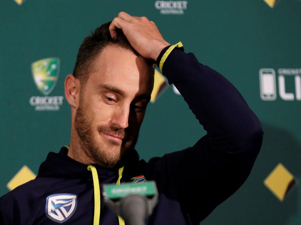 Du Plessis surprised at ICC over India-Australia dispute