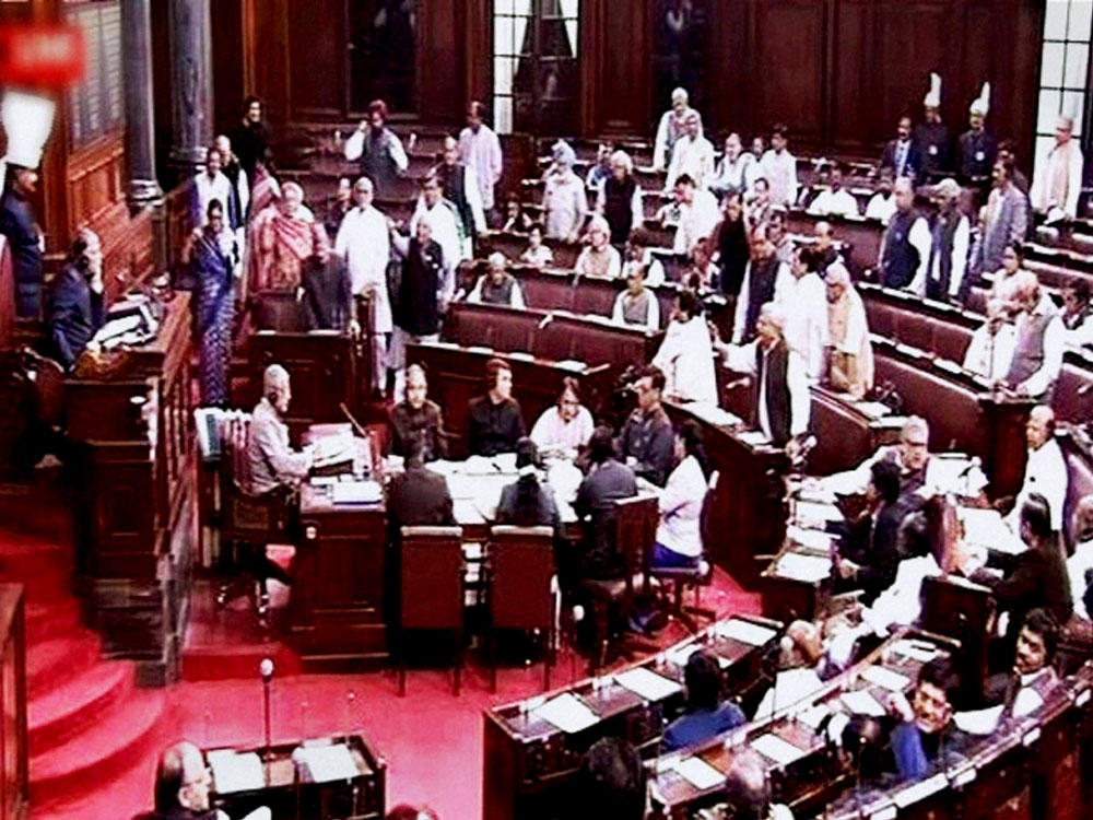 RS proceedings washed out over Goa, Manipur issue
