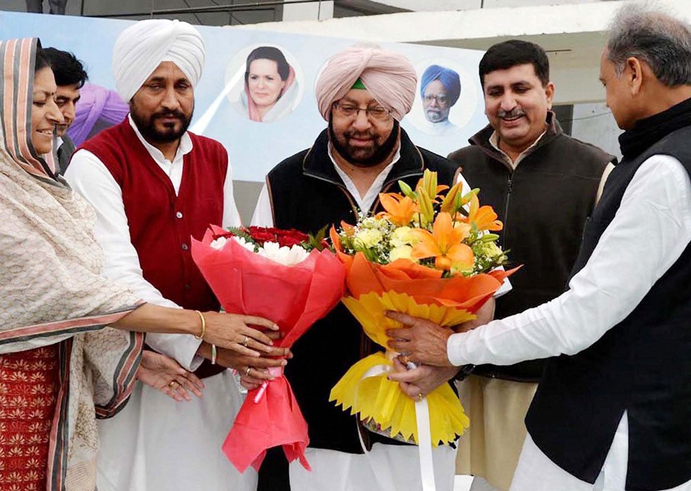 Amarinder Singh to take oath as Punjab CM tomorrow