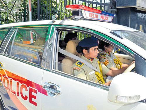Separate toilets for policewomen, at last