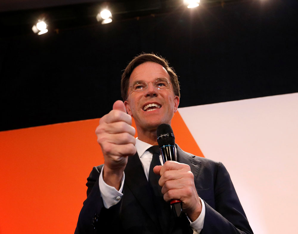 Dutch PM slaps down far-right challenge