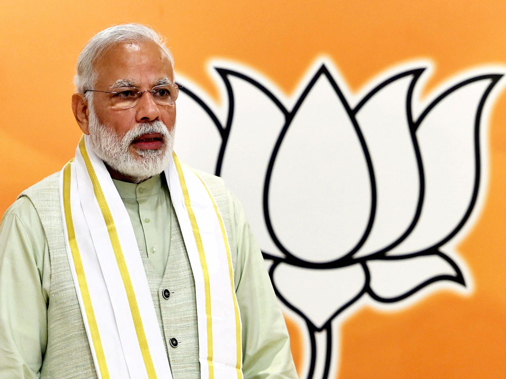 BJP sets tone for 2019 LS polls at its parliamentary party meet