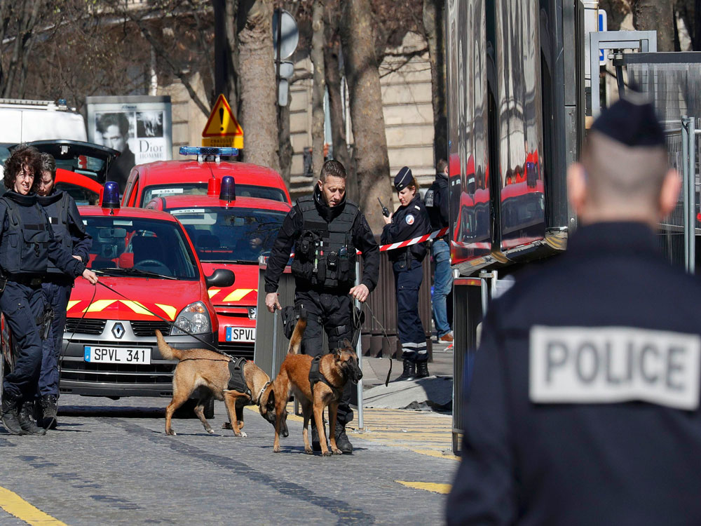 France on alert after shooting in school, letter-bomb blast at IMF office