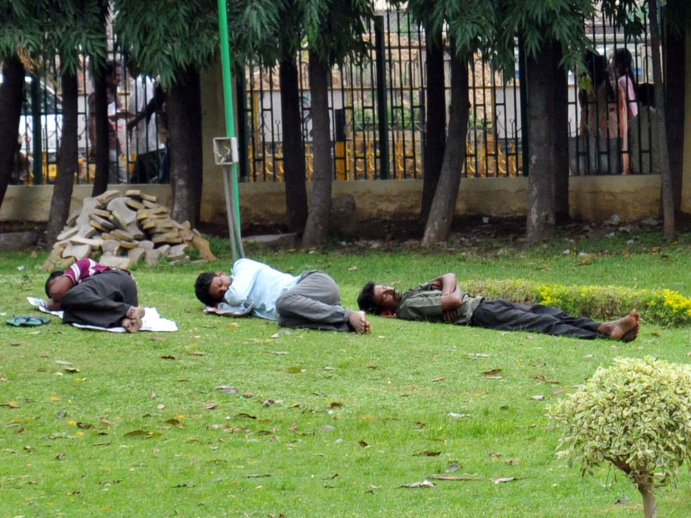 Indians among world's poorest 'sleepers'