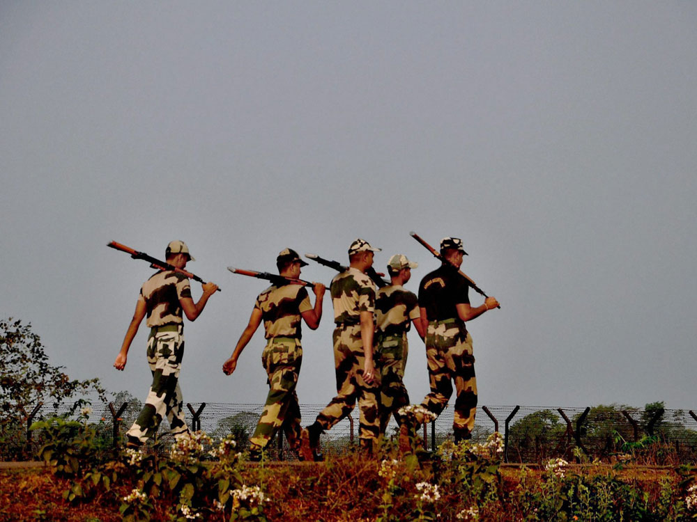 Three killed, two injured in BSF firing