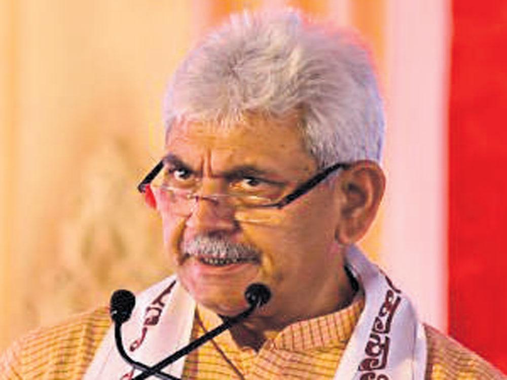 Manoj Sinha likely BJP pick to head UP
