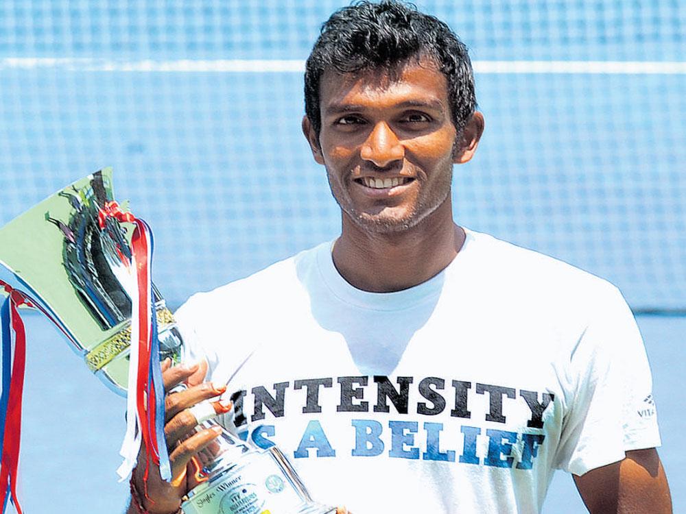 Birthday boy Balaji triumphs