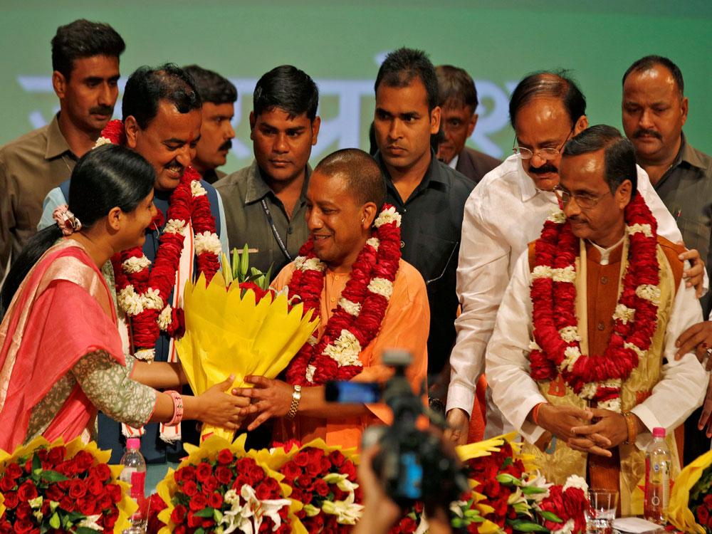 Sole mission & motive is UP's development: PM on Yogi govt