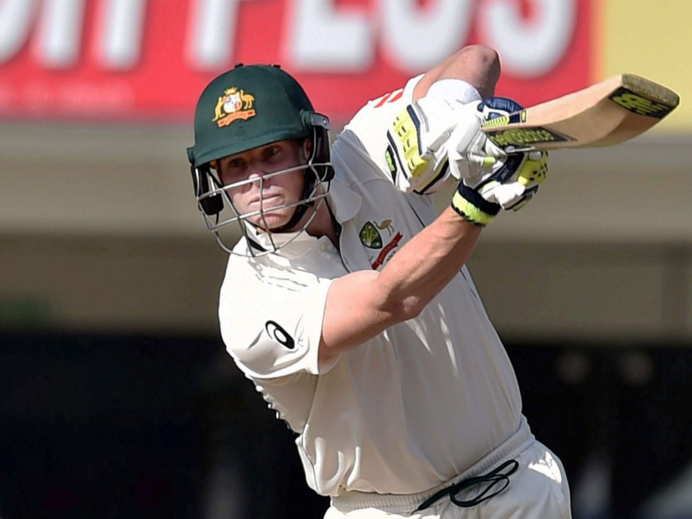 Momentum with Aussies, says Smith