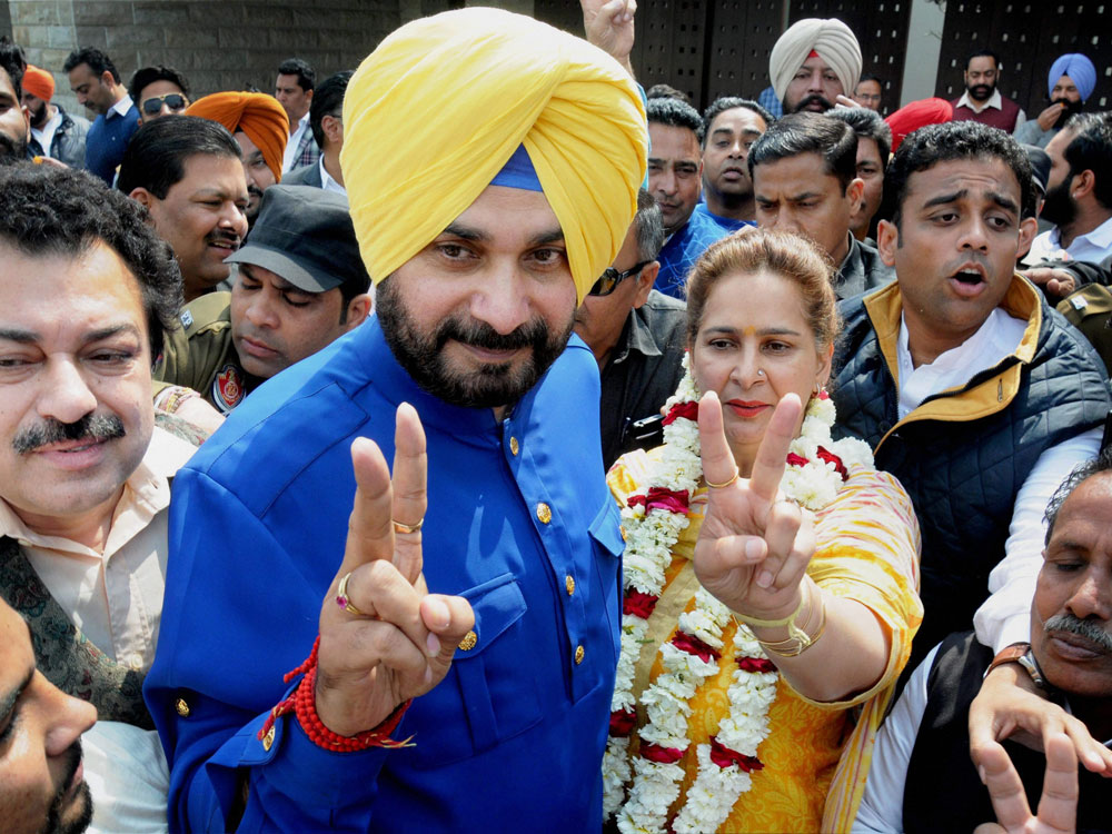 Amarinder 'Ok' with Sidhu on TV if provisions allow
