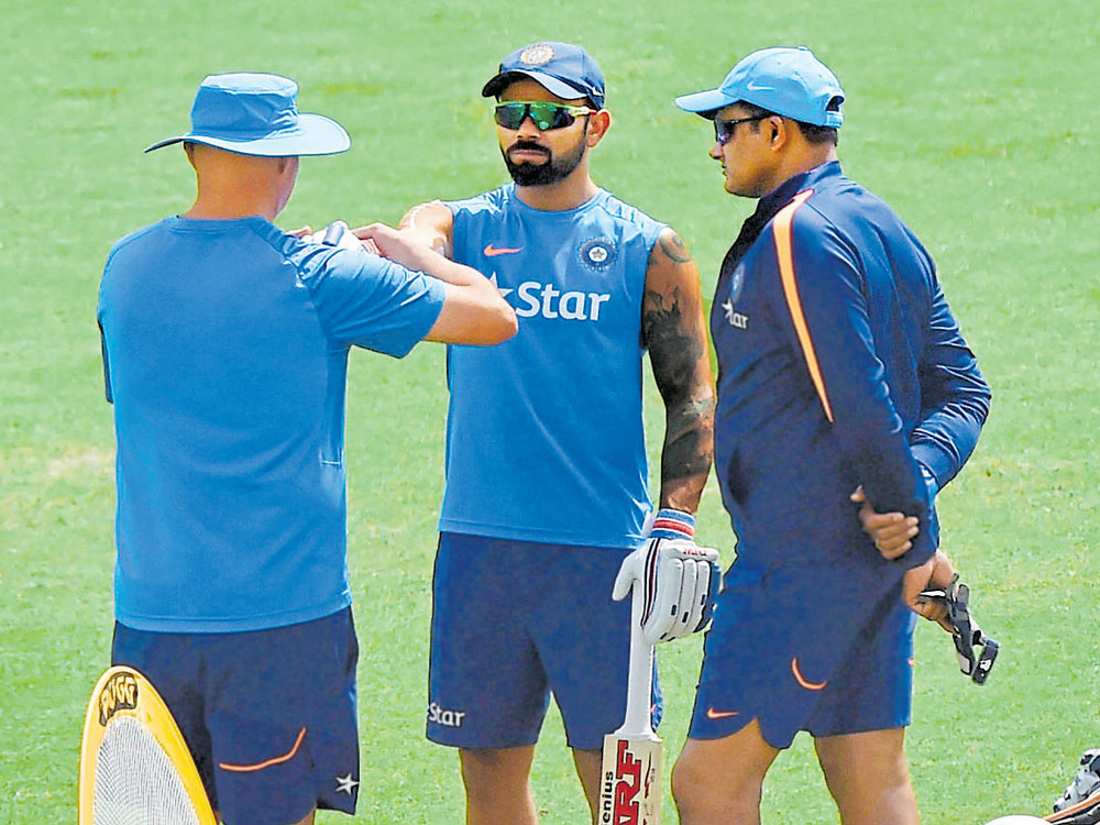 India continue to fret over Kohli's fitness