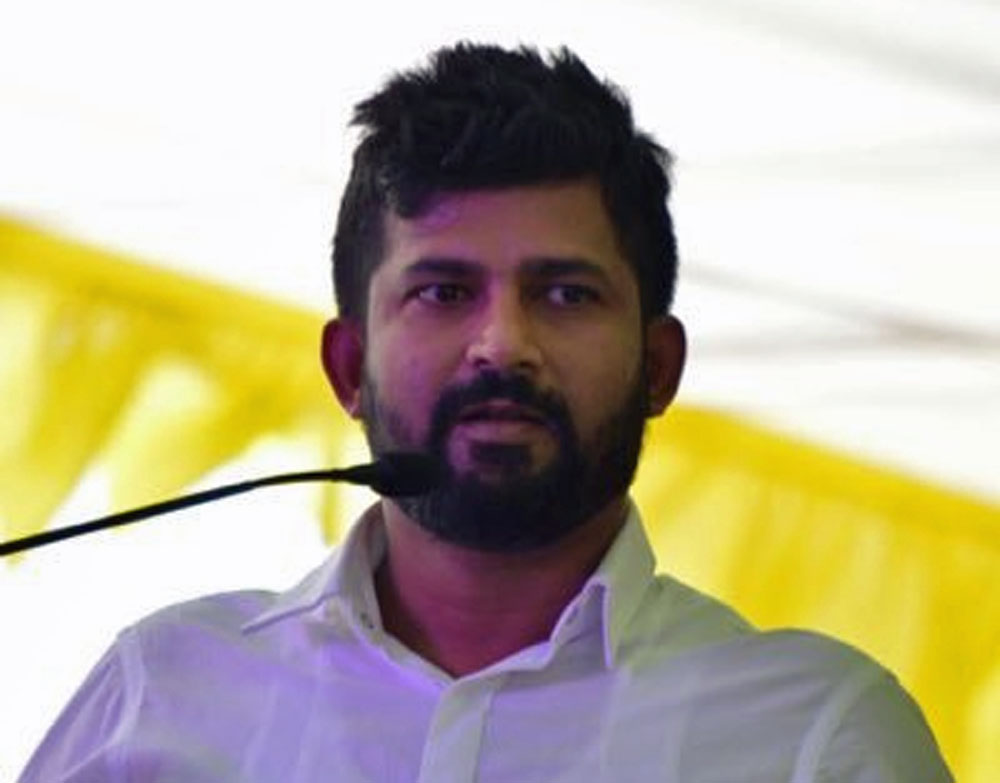MP Pratap apologises for 'greed' remark