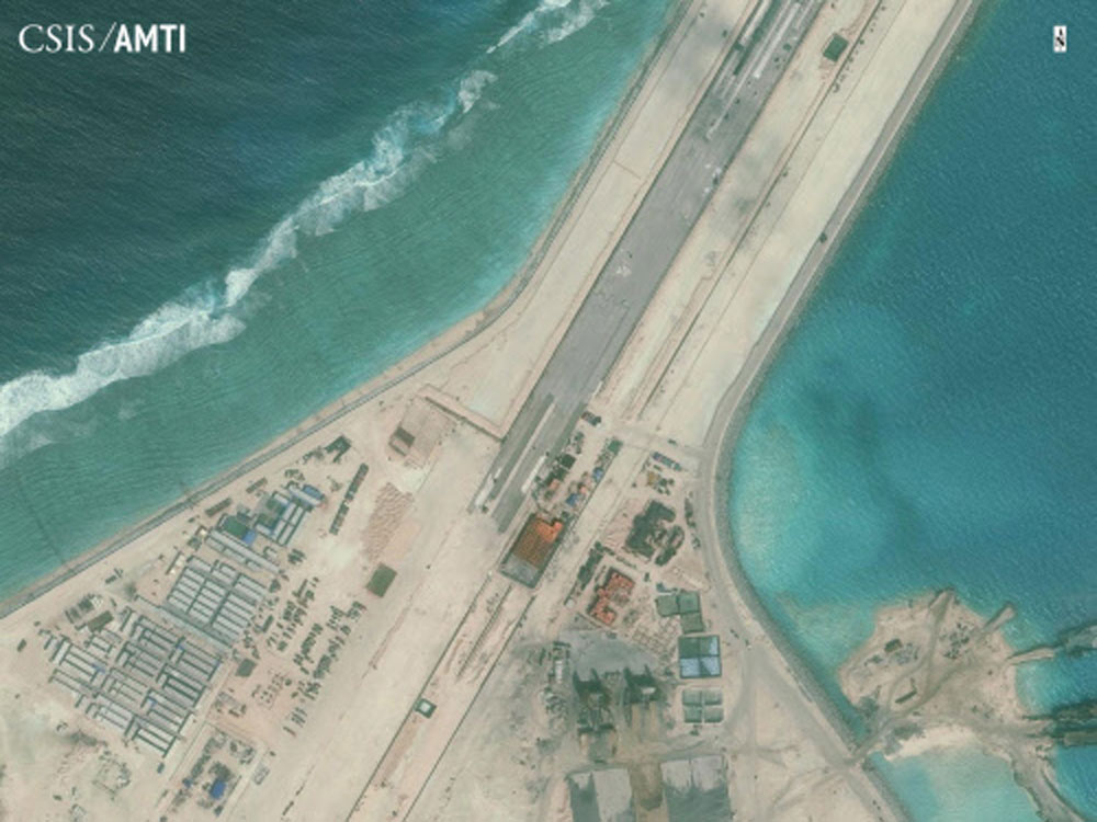 China's military facilities on man-made SCS islands nearly ready