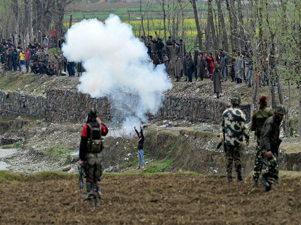 3 civilians, 1 ultra killed in anti-militancy drive