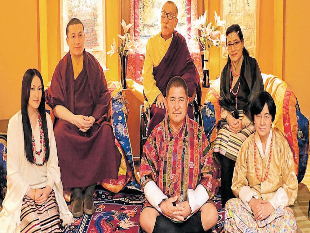 Karmapa claimant marries childhood friend
