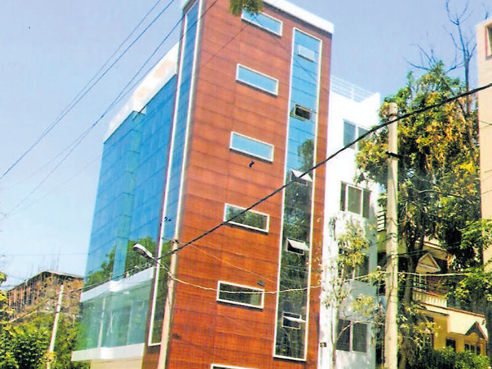 Building comes up in HSR Layout in brazen violation of laws