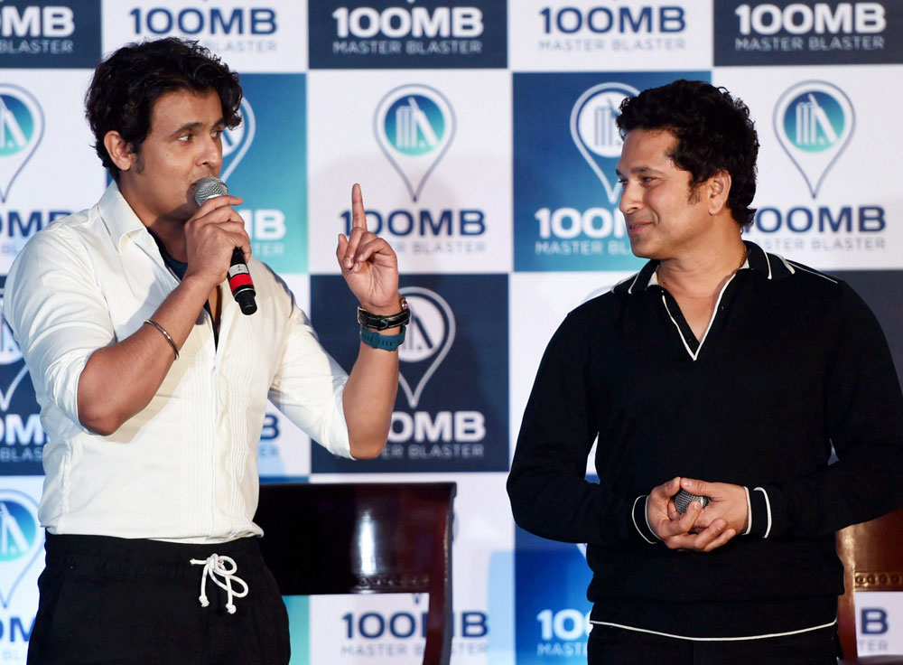 Sachin starts digital innings; app launched