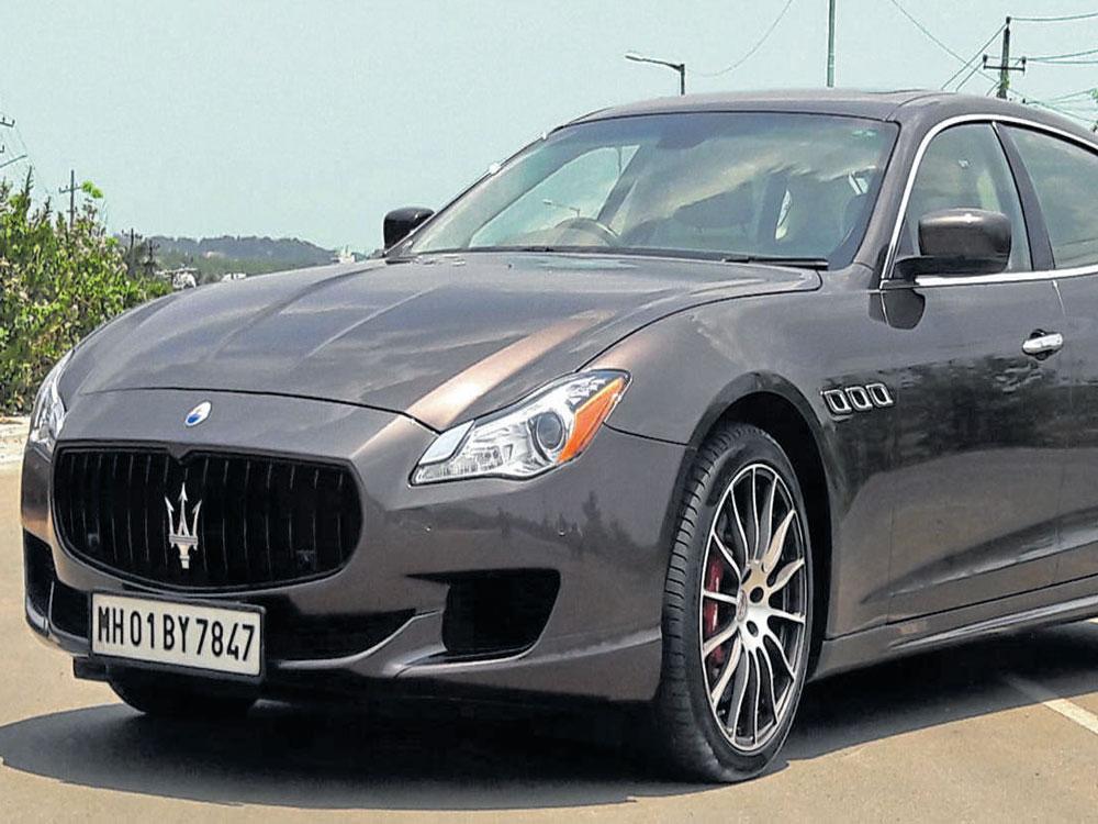 Maserati Quattroporte A King Of Super Luxury Deccan Herald