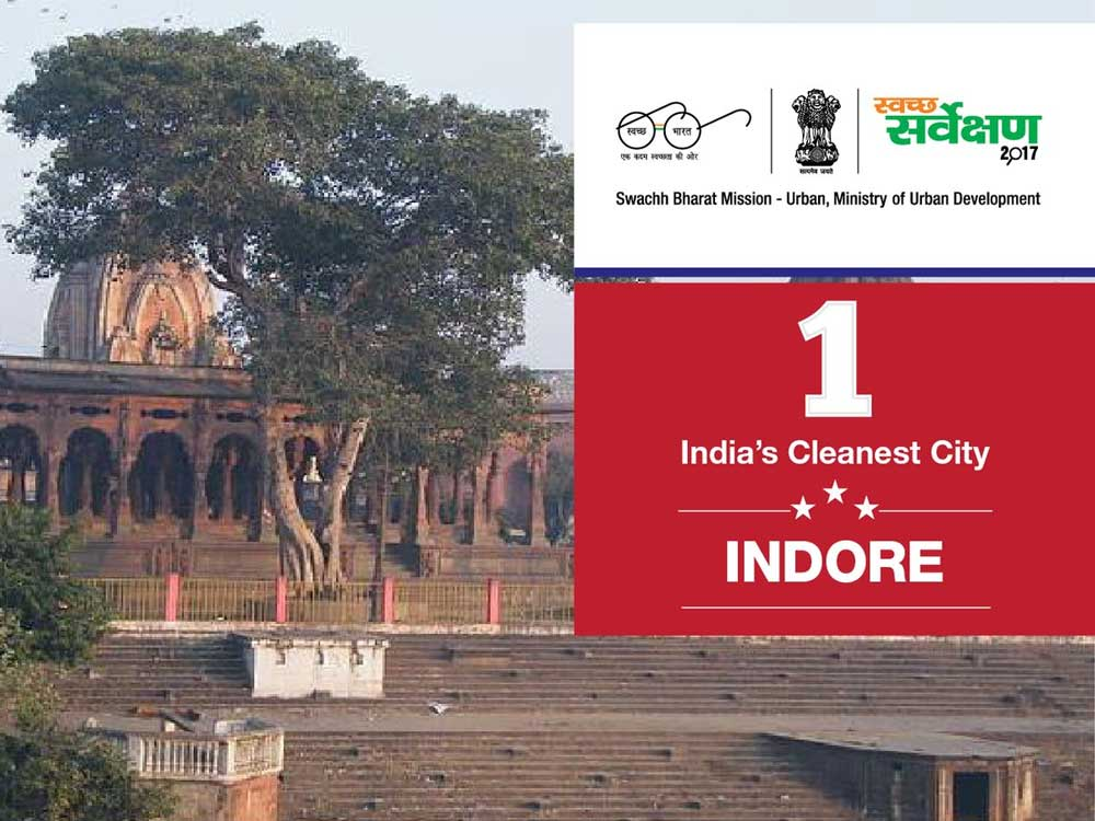 Indore is now cleanest city | Deccan Herald