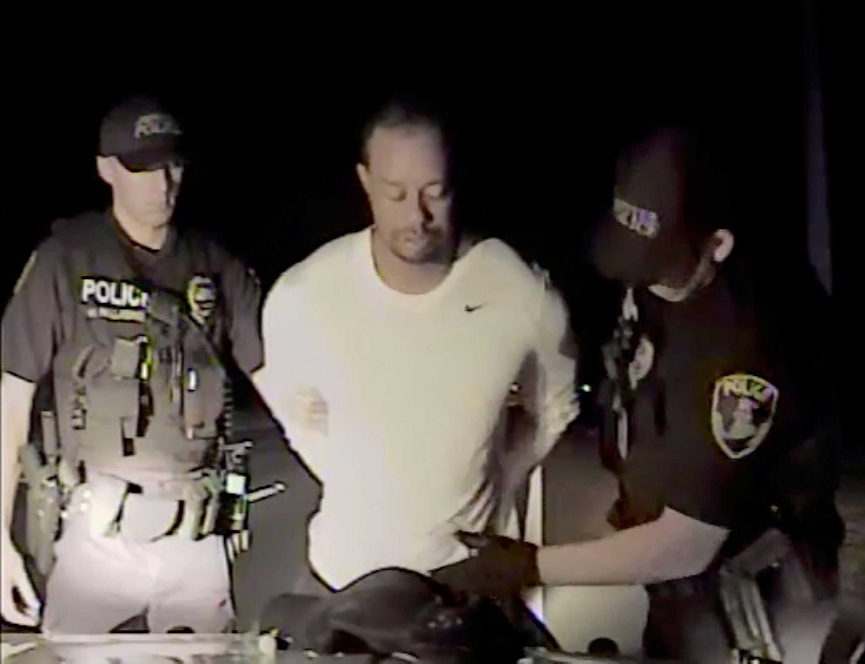 Police video shows unsteady, slurring Woods [Watch]