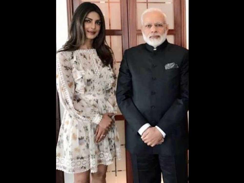 Modi has time to meet Priyanka Chopra, but not farmers: Cong