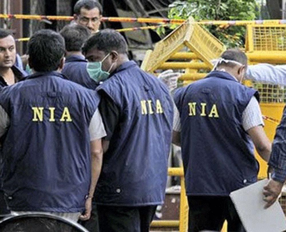 NIA raids in Kashmir, Delhi, Haryana over terror funding