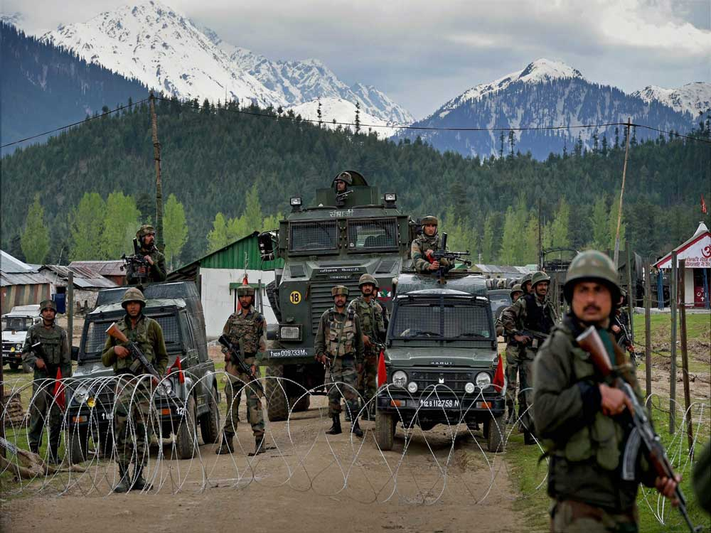 Two jawans killed as militants attack Army convoy in J-K