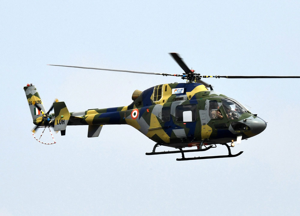 Chinese chopper sighted in Indian airspace