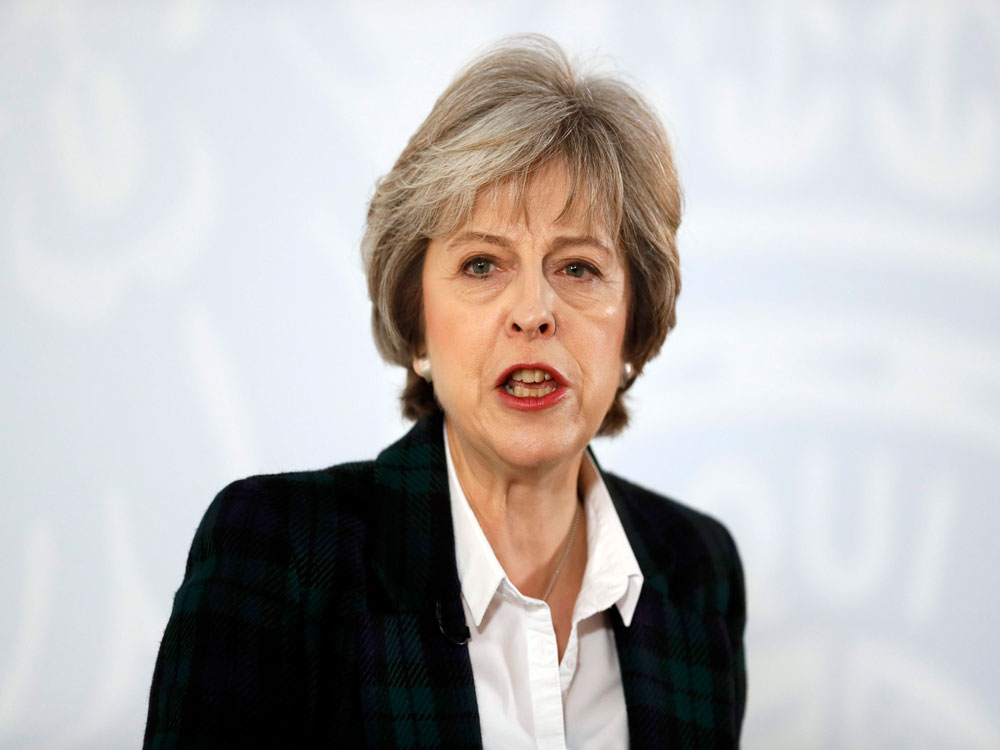 UK polls to go ahead on Jun 8; May condemns Islamist extremism