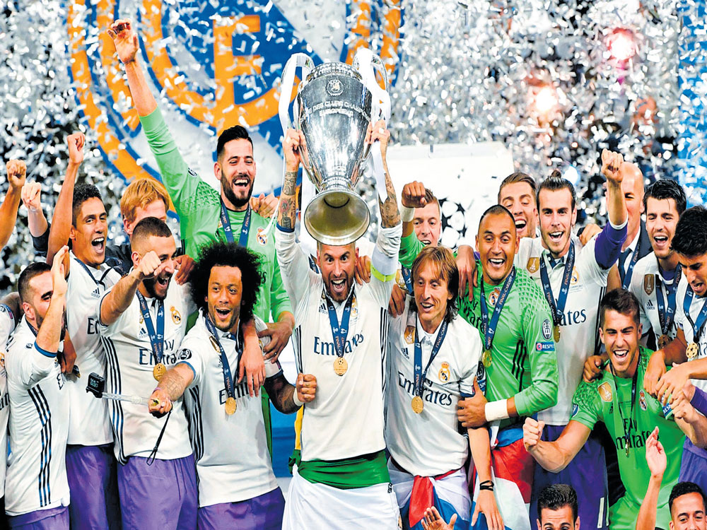 Real remain masters of Europe